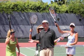 tennis action shot 2